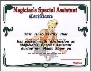 asistan sertifiaksi