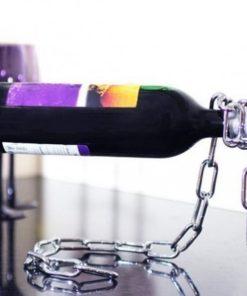 Sihirli Zincir Şişe Tutacağı - Şaraplık