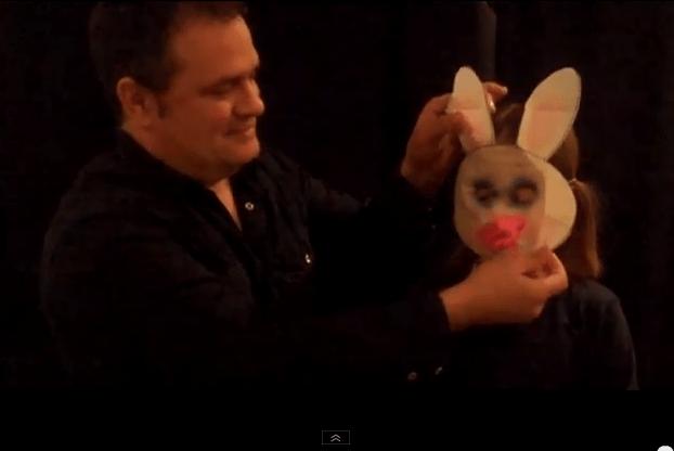 Kağıttan Tavşan Yırtma