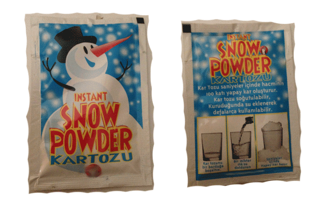 Kar Tozu - Sıvıları Kara Çevirir