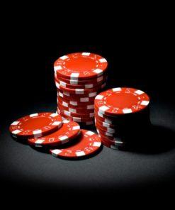Poker Çipi - Kırmızı 5 adet