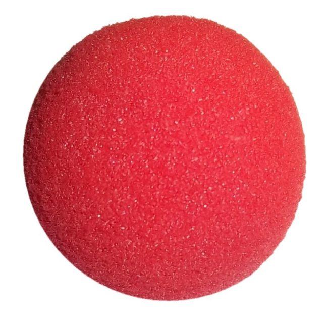 Sünger Top - Kırmızı 7 cm