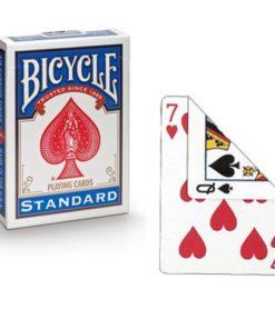 Boş Arka Bicycle Deste - Kırmızı / Mavi