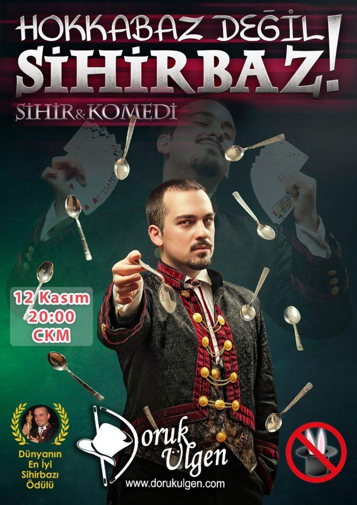 Gösteri - Doruk Ulgen 12 Kasım - CKM