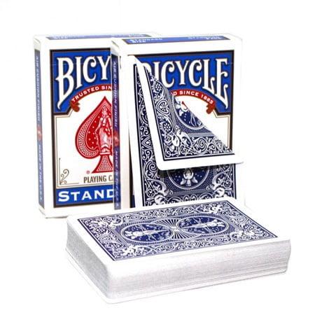Çift Arka Bicycle Deste - Kırmızı / Kırmızı