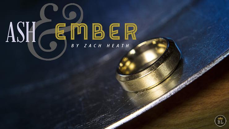 Kül ve Kor Yüzüğü - 21 mm Altın Eğimli