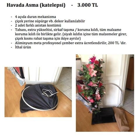 Havada Asma - Katelepsi